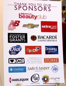 getting Gorgeous 2013 Sponsors