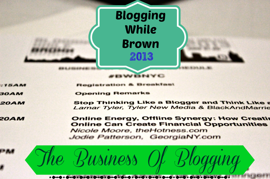 blogging while brown 2013