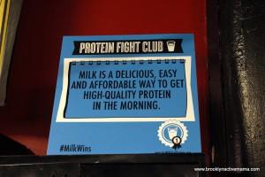 #milkwins Protein Fight Club