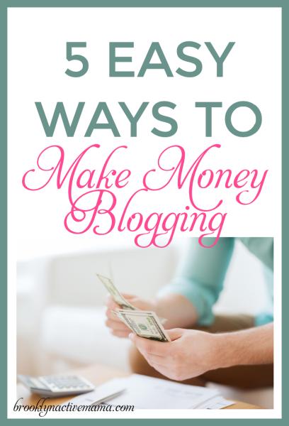 new image 5 easy ways to make money