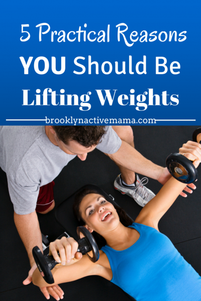 5 Reasons why you should be lifting weights