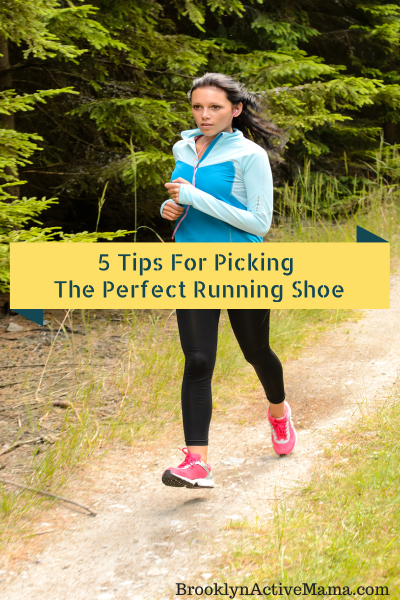 5 Tips For Picking The Perfect Running Shoe