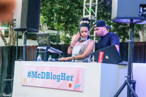 BlogHer 14 San Jose California Mcdonalds closing party