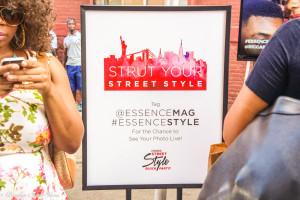 essence magazine street style block party nyfw