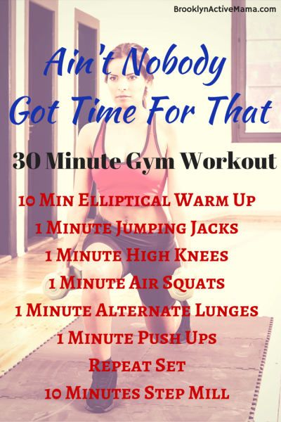 30 Minute Fat Burning Gym Workout