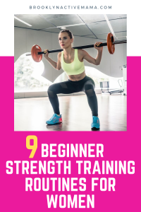 7 Beginner Strength Training Workouts For Women - Want to Start Strength training but not sure where to begin? Check out these easy 7 moves that will have you weightlifting in no time!