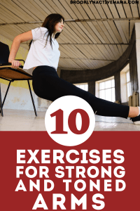 Here are 10 simple arm exercises for women to achieve those coveted toned arms!