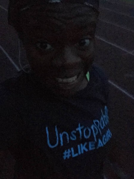 running in the dark!