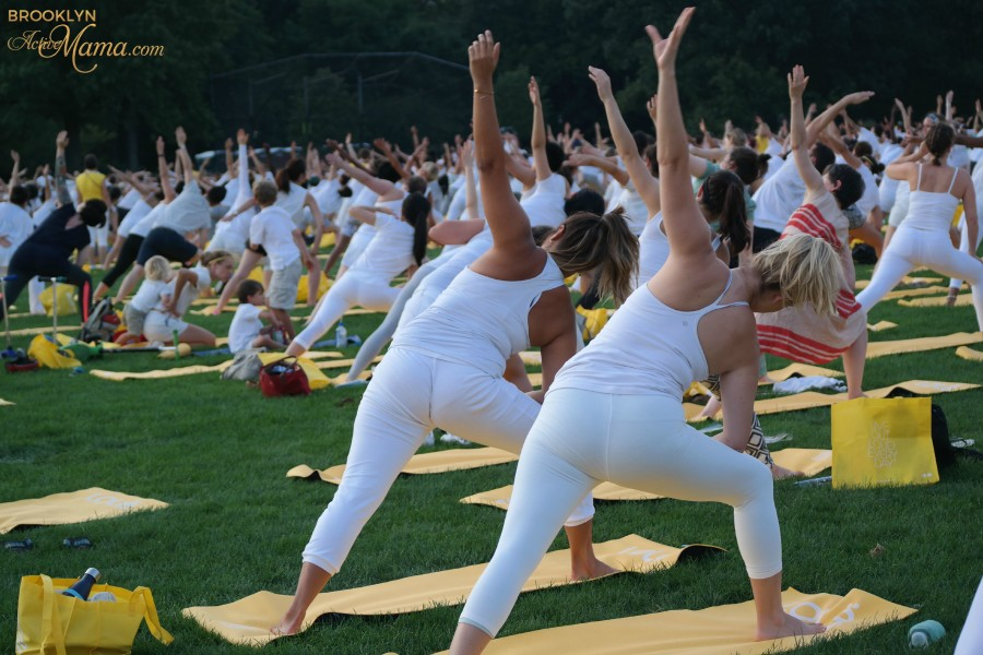 Lole White Tour - Yoga In Central Park