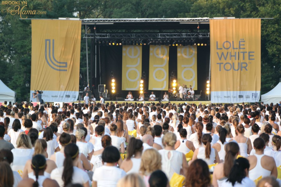Lole White Tour - Yoga In Central Park