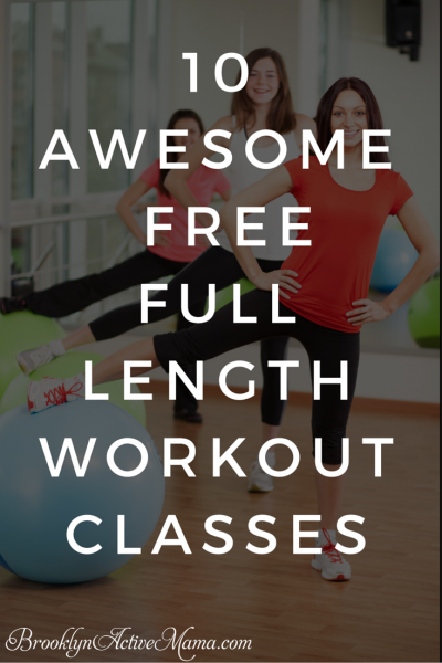 These high energy full length workout classes youtube videos are great for working out at home or even when you travel! It's a great resource for strength training and cardio exercises. Fantastic motivation for losing weight on your own!