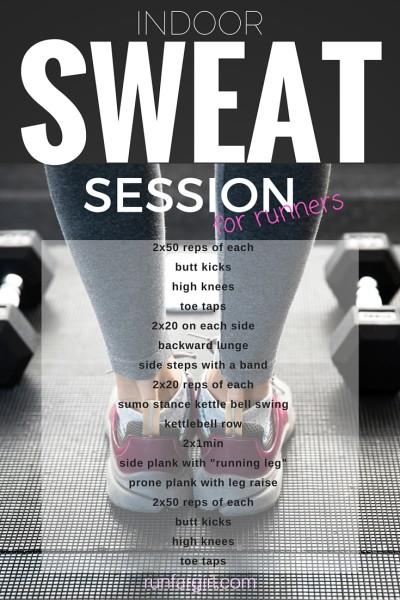 Indoor Sweat Session for Runners-RunFarGirl