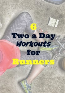 It doesn't have to be crazy long or even super exhausting but honestly if you have a 15 minute pocket in the morning and another in the evening why not take that time to take care of your body? The benefits are the same as a full gym session! --> Two A Day Workouts For Runners #fitness #runners #running #fitnesstips