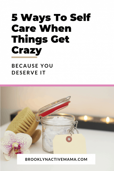 The most important thing to do during these crazy times is take care of yourself. Not only is it vital for your sanity but it is vital to keeping your peace as the storm passes. Today I am sharing 5Ways to Self Care When Things Get Crazy.