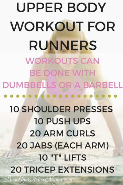 UPPER BODY WORKOUT FOR RUNNERS