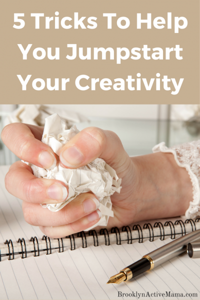 Creativity went out the window and you have nothing left? try these 5 Tricks To Help You Jumpstart Your Creativity
