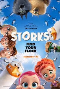 STORKS Coloring Pages Printables
