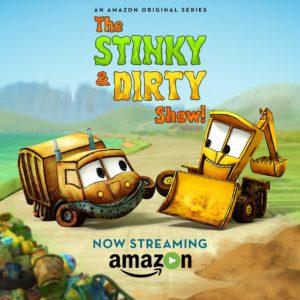 Stinky & Dirty Show on Amazon Video
