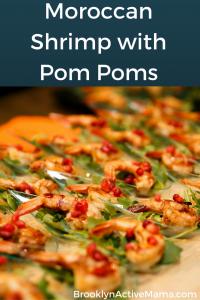 Moroccan Shrimp with Pom Poms Recipe