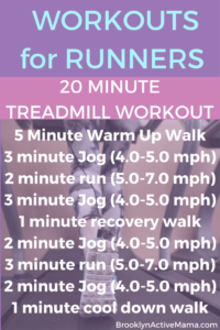 Here is a variety of 6 Treadmill Workouts for when the weather isn't cooperating!