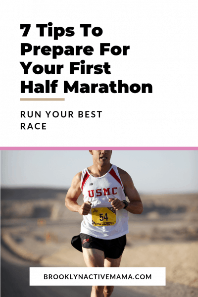 Check out these 7 Tips To Prepare For Your First Half Marathon! Run your best race and be as prepared as you can!