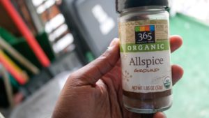 All spice seasoning from whole foods for Authentic Jamaican Rice And Peas