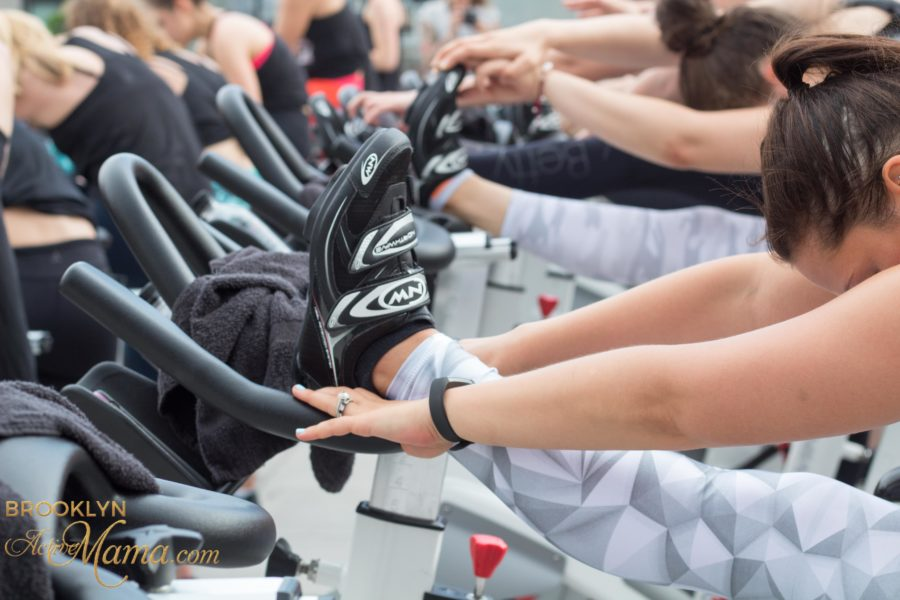 CrankNYC Rooftop Spin Class