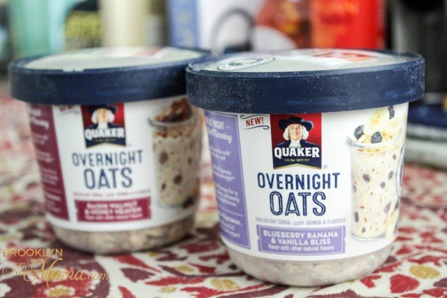 New Quaker Overnight Oats