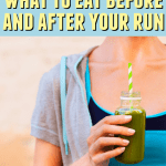 Curious about what you should be eating before, after and during your run? Check out these easy and healthy options!