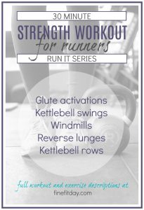 30 Minute Kettlebell Workout For Runners