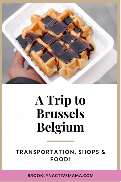 Brussels Belgium is such a fantastic European city to travel to! Check out my experience with the transportation, food, shops and of course the belgian waffles!