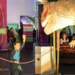 A Roaring Good Time At The Dinosaur Time Trek