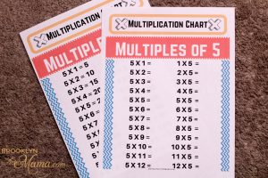Multiplication can be learned many different ways, check out these printable multiplication table sheets to help your student memorize their times tables!