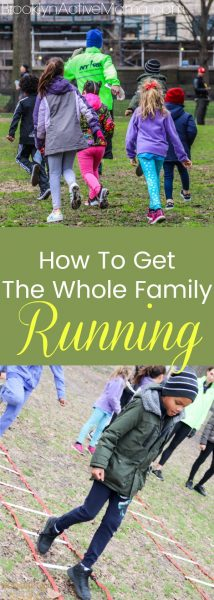 How To Get The Whole Family Running with these 4 easy tips!