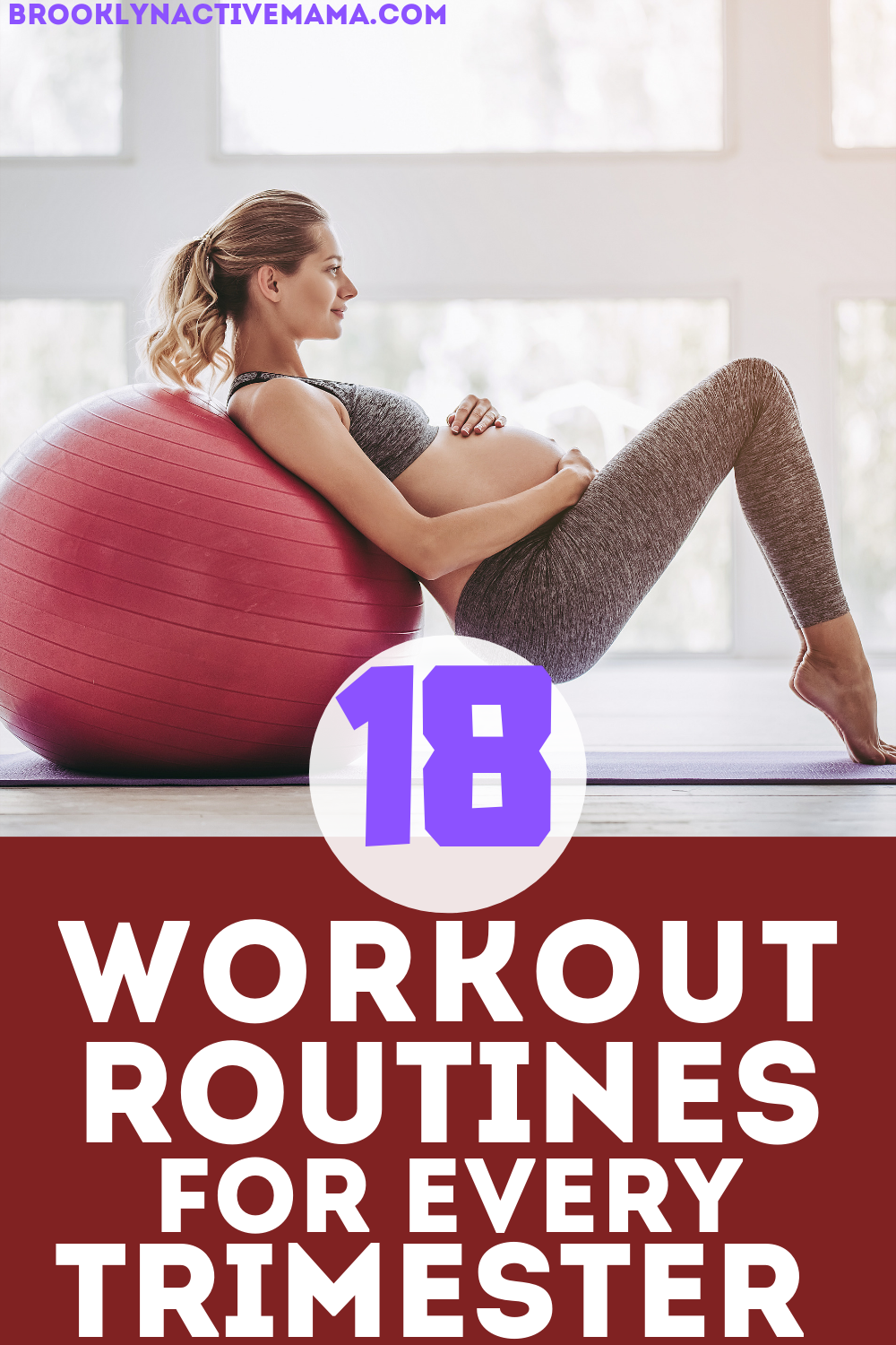 Not sure which exercises to do during pregnancy? Check out these 18 workouts you can do during each trimester!
