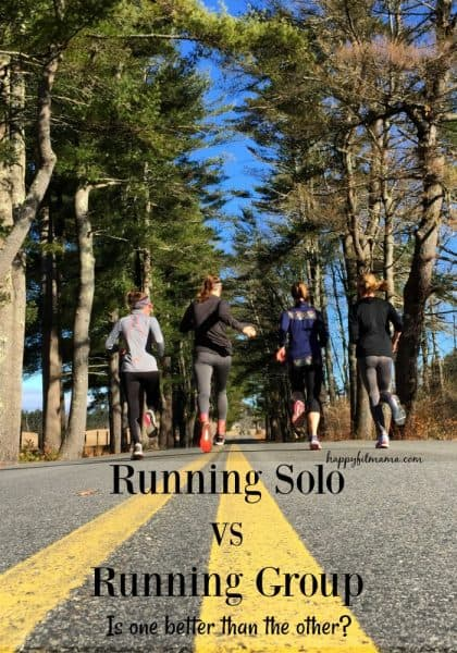 Which one is better? Solo running or group running? Doing a fun comparison of the two run styles! #running