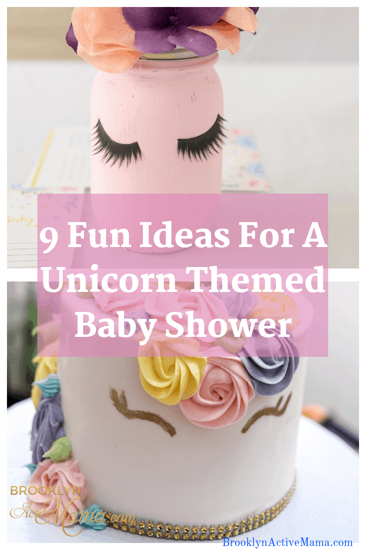 Looking to do a fun girly themed shower? Check out these 9 Fun Ideas For A Unicorn Themed Baby Shower