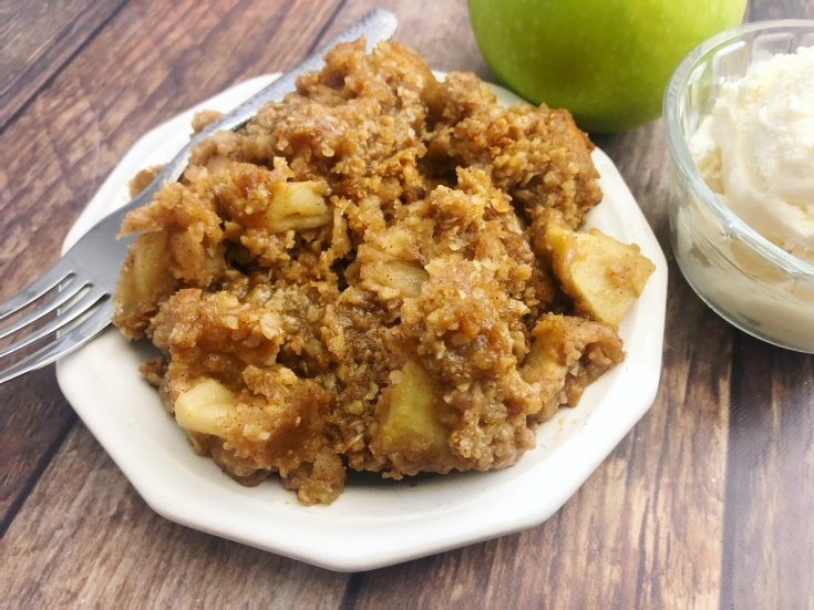 Easy Old Fashioned Apple Crisp