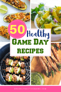 Looking for some healthy game day recipes for the big game? Check out these 50 Healthy Game Day Recipes that are perfect for any sporting occasion! #HealthyEating #Healthyrecipes #Gameday