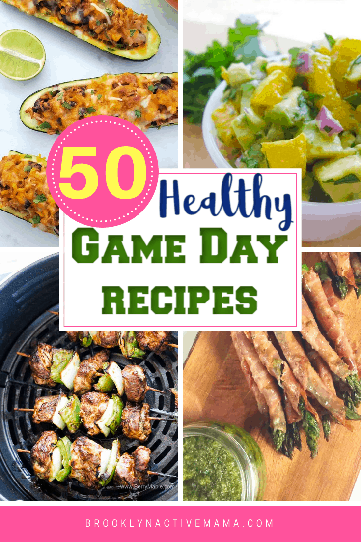 Looking for some great recipes for the big game? Check out these healthy choices that will delight your taste buds while you cheer on your favorite team! #gameday #healthyrecipes #healthyeating