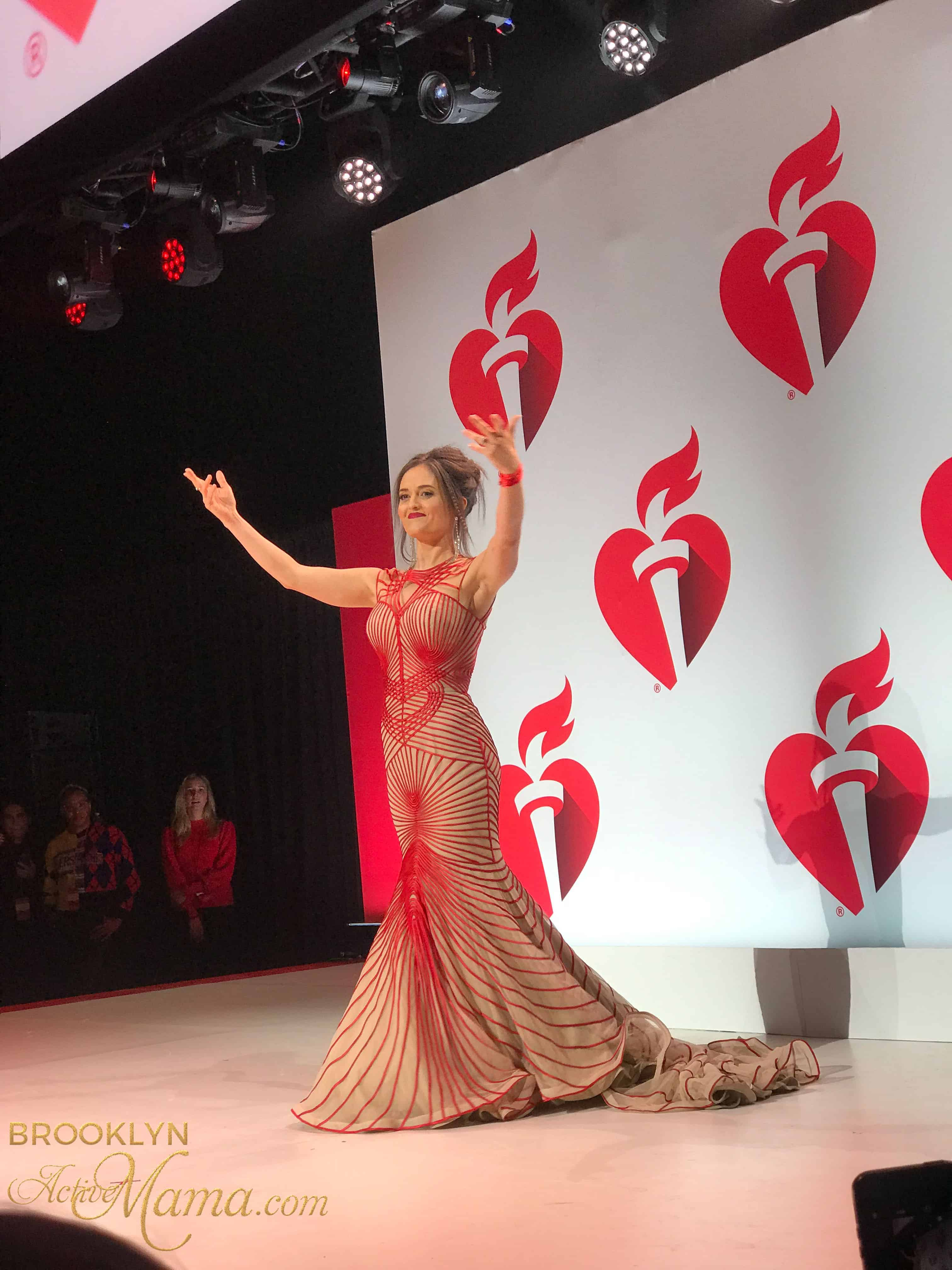 Go Red For Women Red Dress Collection Show 2019