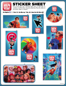 WreckIt Ralph Part 2! Ralph Breaks The Internet Free Coloring Pages and Printables!