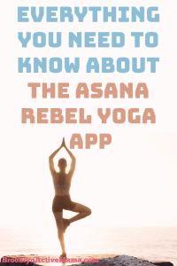 Looking for a super versatile yoga app? One that incorporates cardio and so much more? Check out the Asana Rebel App!