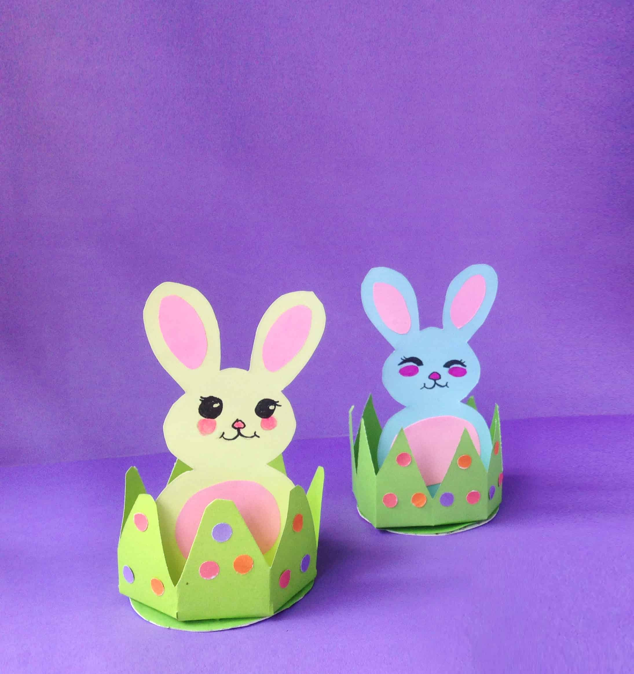 Diy Easy Easter Bunny Craft For Kids Brooklyn Active Mama