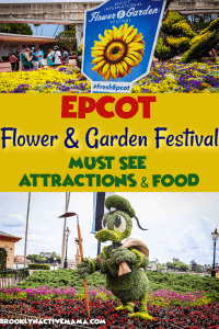The Epcot Flower and Garden Festival is one of the most gorgeous times at Walt Disney World! Check out the sights and the must see attractions at this year's festival! #disneyworld #epcot #traveltips #freshepcot