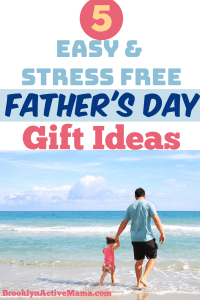 Crafty and non-crafty ideas for moms and kids to do for dad this Father's day. Here are 5 Easy Father's Day Gift Ideas to keep things simple.