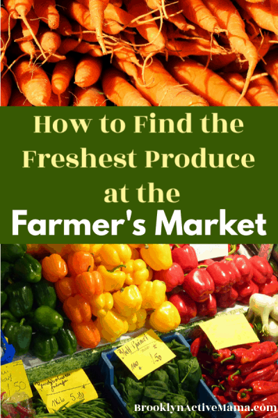 Have you ever gone to the farmer's market thinking you are getting fresh delicious produce? Only to come home and realize it's not as fresh and amazing you had thought it was? Here are some things you should look for when you are at the farmer's market searching for the freshest produce.