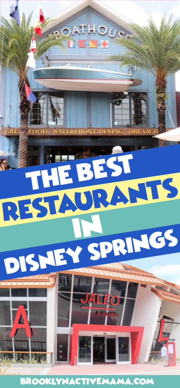Disney Springs can be overwhelming, so when you make your Disney vacation plans, consider reservations at the hottest Disney Springs restaurants. #disney #disneyworld