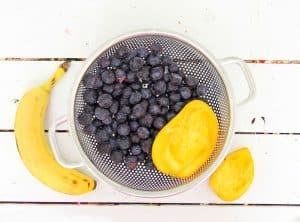This easy to prepare blueberry banana smoothie will start your day with a delicious healthy drink, that will give you energy and keep you going. It's not only good for you, it's tastes good too!