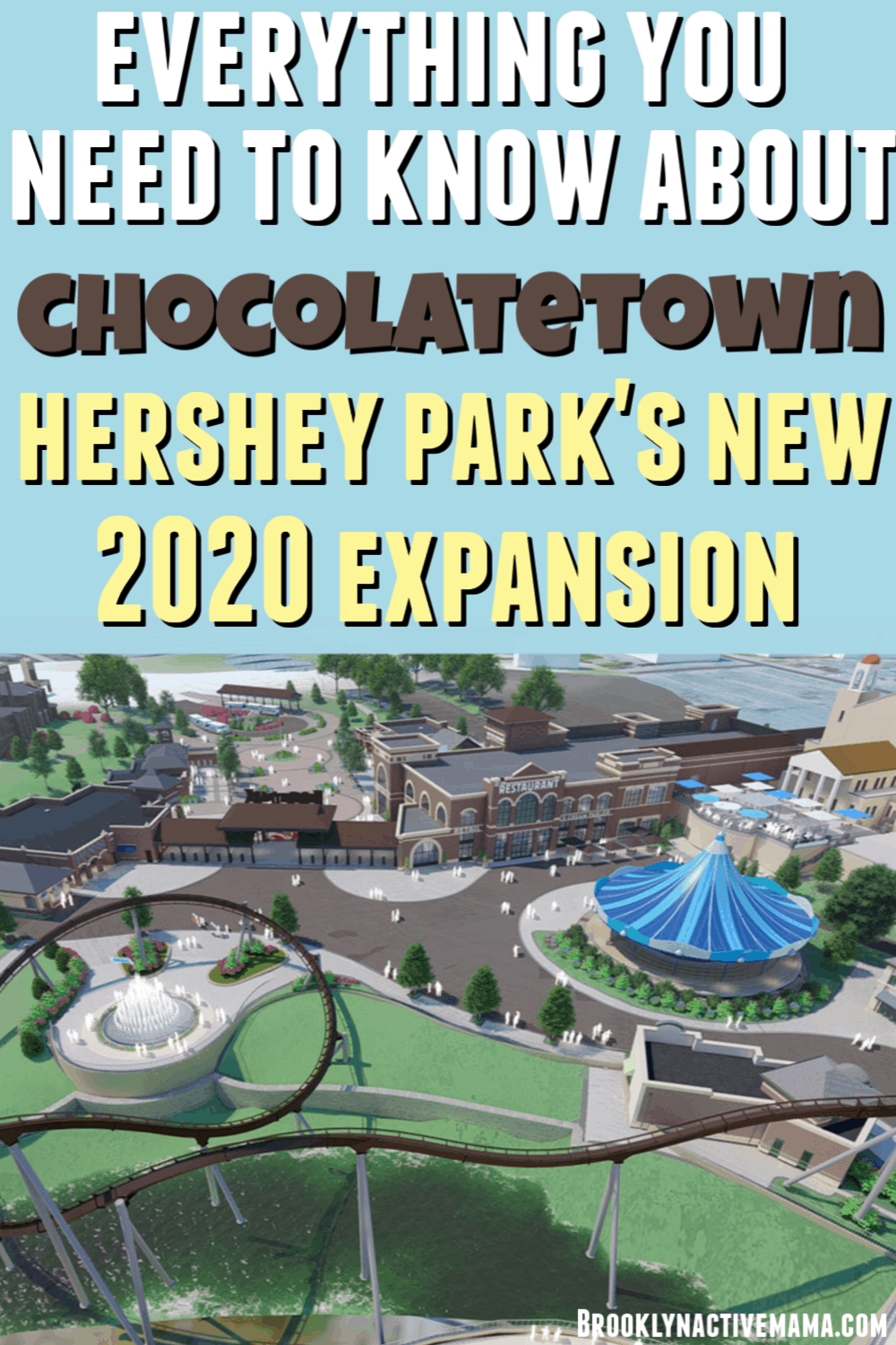 Chocolatetown is a $150 million transformational expansion that is coming to Hersheypark in 2020. Learn all about the sweet details here! #hersheypark #hersheyparktips #familytravel
